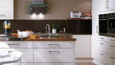 kitchen fitting birmingham | kitchen design - white slab