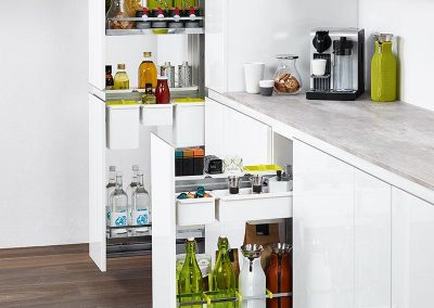 kitchen fitting birmingham | larder units pull-out