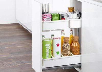 kitchen fitting birmingham | larder unit pull-out